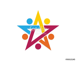 star community group logo template