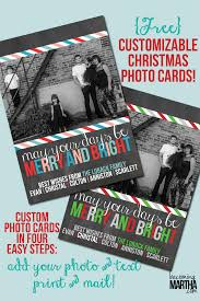 free printable christmas cards with own photo free printable christmas cards customize with your own photo