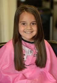 5 year old mia u0027s big haircut little princess trust