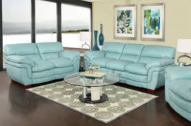 livorno aqua leather sofa aqua yellowish tan or cream color combination eye like