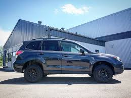 subaru forester modified 2017 2 5i subaru forester dark grey u2013 lp aventure a division of