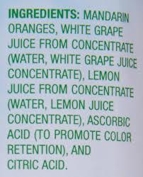 dole mandarin oranges in 100 fruit juice 23 5 oz jar walmart com