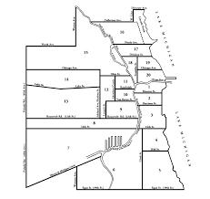40th ward chicago map ward map 2 february 1869