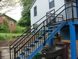 Porch Stair Handrail Outdoor Stair Stringers By Fast Stairs Com