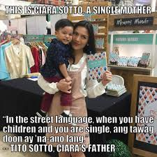 Ciara Meme - look how sotto criticizes by the netizens after his na ano lang