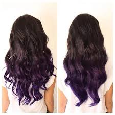 weave hairstyles with purple tips 67 best hair images on pinterest colourful hair hair color and