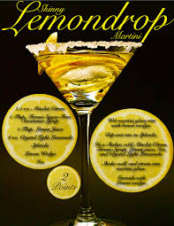 martini recipe vegas lemon drop martini recipe