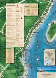 Riviera Maya Map General Information Rivera Maya