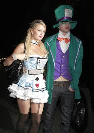 Halloween Costumes Mad Hatter Pictures Paris Hilton U0027s Alice Wonderland Halloween