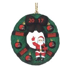 the 2017 annual browns ornament the danbury mint