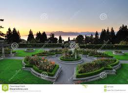 Botanical Gardens Ubc by Ubc Rose Garden At Sunset Royalty Free Stock Photos Image 20913858