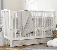 Pottery Barn Convertible Crib Emerson Convertible Crib Soft Gray Unlimited Flat Rate Delivery