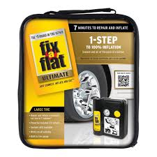amazon com fix a flat s50073 ultimate 1 step tire repair kit