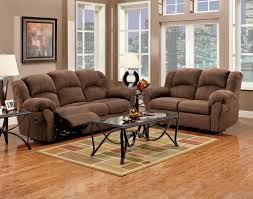 Cloth Reclining Sofa Barnsdale Reclining Italian Leather Sofa And Loveseat Set In Two