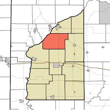 Shawnee Map Shawnee Township Fountain County Indiana Wikipedia