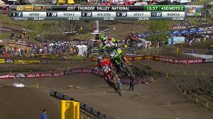ama motocross videos lucas oil pro motocross thunder valley 450 moto 2 baggett