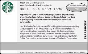 Starbucks Business Cards Starbucks Coffee Company