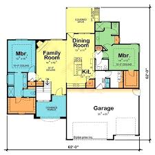 one house plans with two master suites house plans with 2 large master suites archives