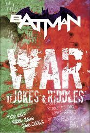 batman writer unveils u0027the war of jokes and riddles u0027 details ign