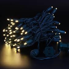Light String Christmas Tree by 100 Led Christmas Lights String 5mm Wide Angle Shine Decor