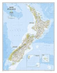 wall maps new zealand classic wall map wall maps