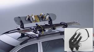 porta snowboard auto volvo jibbing