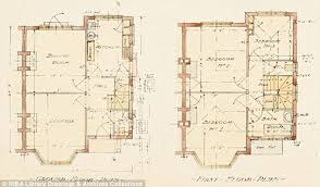 Chalet Bungalow Floor Plans Uk Average British Home Has Shrunk By Two Square Metres In Just A