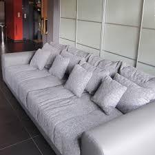 canapé droit 6 places grand canapé droit byouty 4 places gris foncé canapé design