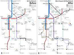 Trimet Max Map Bringing Frequent Service To South King County