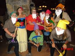 snow white and the 7 dwarfs group costume dwarf snow white and snow