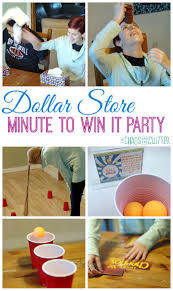 Christmas Party Minute To Win It Games Dollar Store Minute To Win It