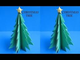 Arts And Crafts Christmas Tree - diy paper crafts how to make christmas tree innovative arts
