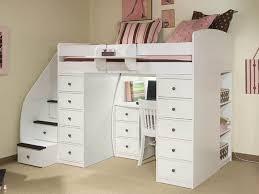 kids loft bed with desk bedroom furniture