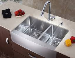 Kraus Sinks In Kitchen Modern With Dekton Countertops Next To Ikea - Ikea kitchen sinks and faucets