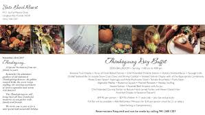 serving thanksgiving on the suncoast dining mysuncoast