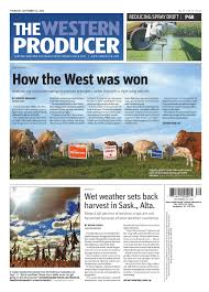the western producer september 24 2015 by the western producer
