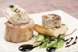 recette cuisine lapin recette de râble de lapin farci au foie gras et asperges vertes