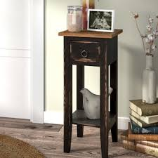 Narrow Tables Narrow Side Table Wayfair