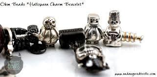 ohm beads halloween charm bracelet