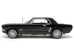 2009 Black Mustang Gt 1964 1 2 Ford Mustang Hardtop 1 18 Scale Welly Diecast Model