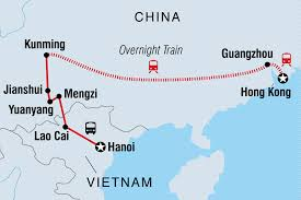 China Train Map by Hanoi To Hong Kong China Tours Intrepid Travel Gb
