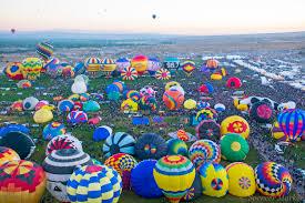 flying high at the albuquerque balloon fiesta