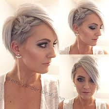 pixie braid hairstyles 31 wedding hairstyles for short to mid length hair pixie cut