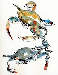 31 best gulf coast art images on pinterest blue crabs crab art