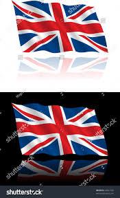 Greek Canadian Flag British Flag Flowing Stock Vector 54361726 Shutterstock