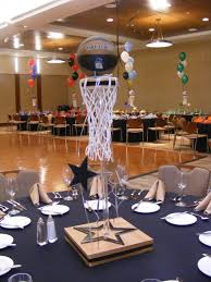 basketball centerpieces basketball centerpieces masquerade basketball graduation
