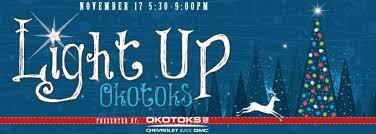 light up okotoks presented by okotoks gm the town of okotoks