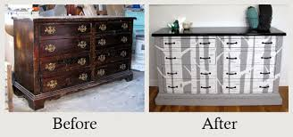 Bedroom Furniture Makeover - furniture makeovers the amazing power of paint
