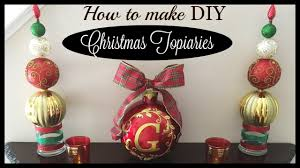 christmas topiary dollar tree christmas diys easy topiary for 10
