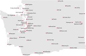 seattle map test wa state licensing driver licensing office locations